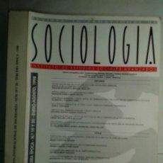 Libros de segunda mano: REVISTA INTERNACIONAL DE SOCIOLOGÍA Nº 19 Y 20 ENRO / AGOSTO 1998 IESA EDITA CSIC. Lote 214290705