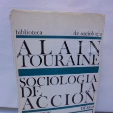 Libros de segunda mano: SOCIOLOGIA DE LA ACCION. ALAIN TOURAINE. EDICION ARIEL 1969. COLECCION DEMOS. Lote 215156123