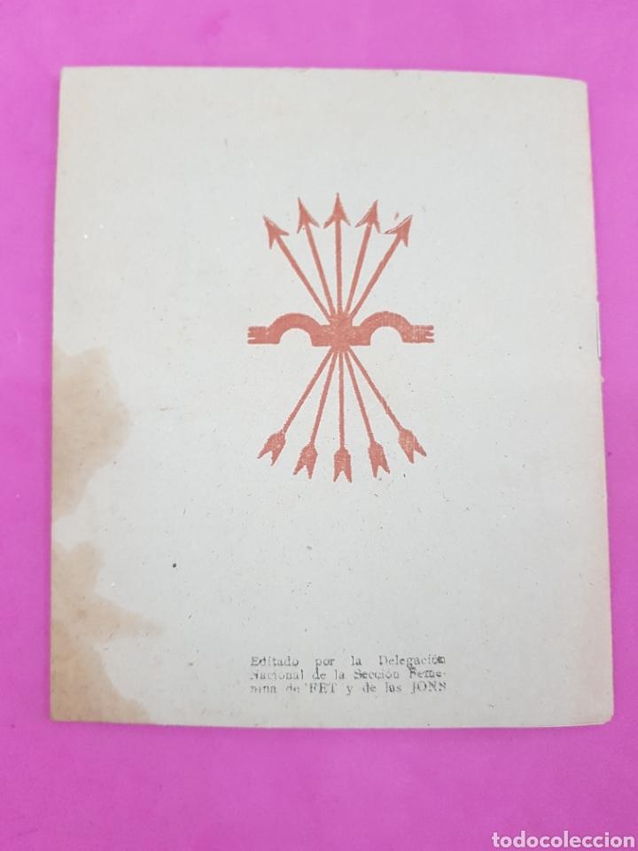 Libros de segunda mano: Cartilla de la madre , editado por la sección femenina de Falange - Foto 4 - 215429368