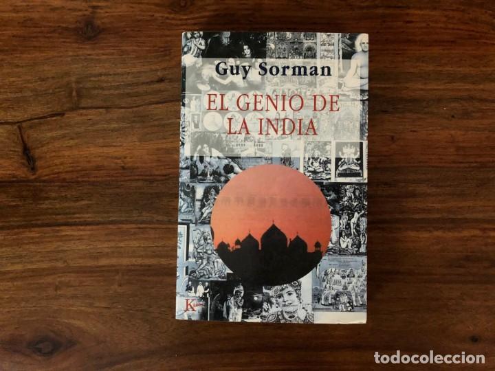 EL GENIO DE LA INDIA. GUY SORMAN. KAIRÓS (Libros de Segunda Mano - Pensamiento - Sociología)