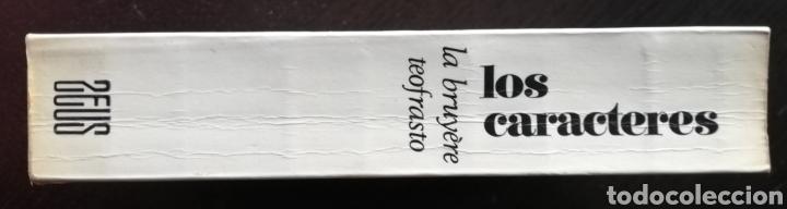 Libros de segunda mano: LOS CARACTERES, LA BRUYÈRE ~TEOFRASTO - 1968~1ªEd. - JEAN DE LA BRUYÈRE - Ed. ZEUS - Foto 2 - 218075107