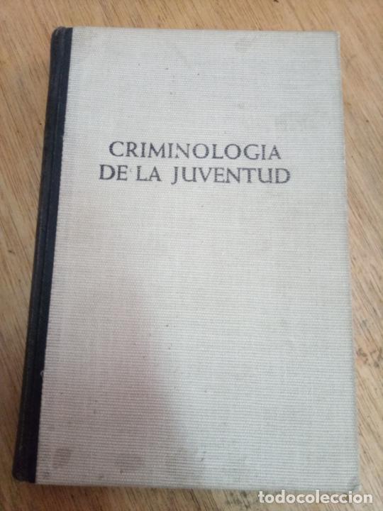 WOLF MIDDENDORFF: CRIMINOLOGÍA DE LA JUVENTUD (Libros de Segunda Mano - Pensamiento - Sociología)