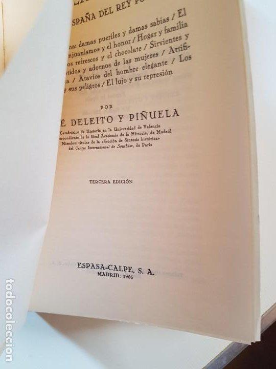 Libros de segunda mano: La mujer, la casa y la moda (en la España del Rey Poeta). José Deleito y Piñuela.1966 - Foto 2 - 218137475