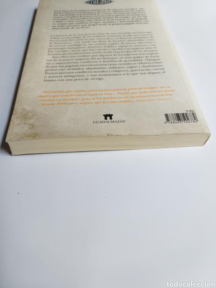 Libros de segunda mano: El científico que derrotó a Hitler y otros ensayos sobre la historia de la ciencia .Alejandro Navar - Foto 6 - 218192096