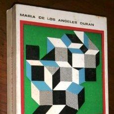 Libros de segunda mano: NOCIONES DE SOCIOLOGÍA POR Mª ANGELES DURÁN DE ED. EURAMÉRICA EN MADRID 1968. Lote 221281501