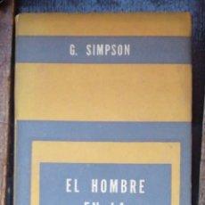 Libros de segunda mano: EL HOMBRE EN LA SOCIEDAD. SIMPSON, GEORGE. 1964 PAIDOS. IN 8 RUSTICA 190 PP. S. ENSAYO. Lote 221393910