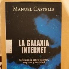 Libros de segunda mano: LA GALAXIA INTERNET - MANUEL CASTELLS - ARETÉ - 1A EDICIÓN 2001. Lote 221841018