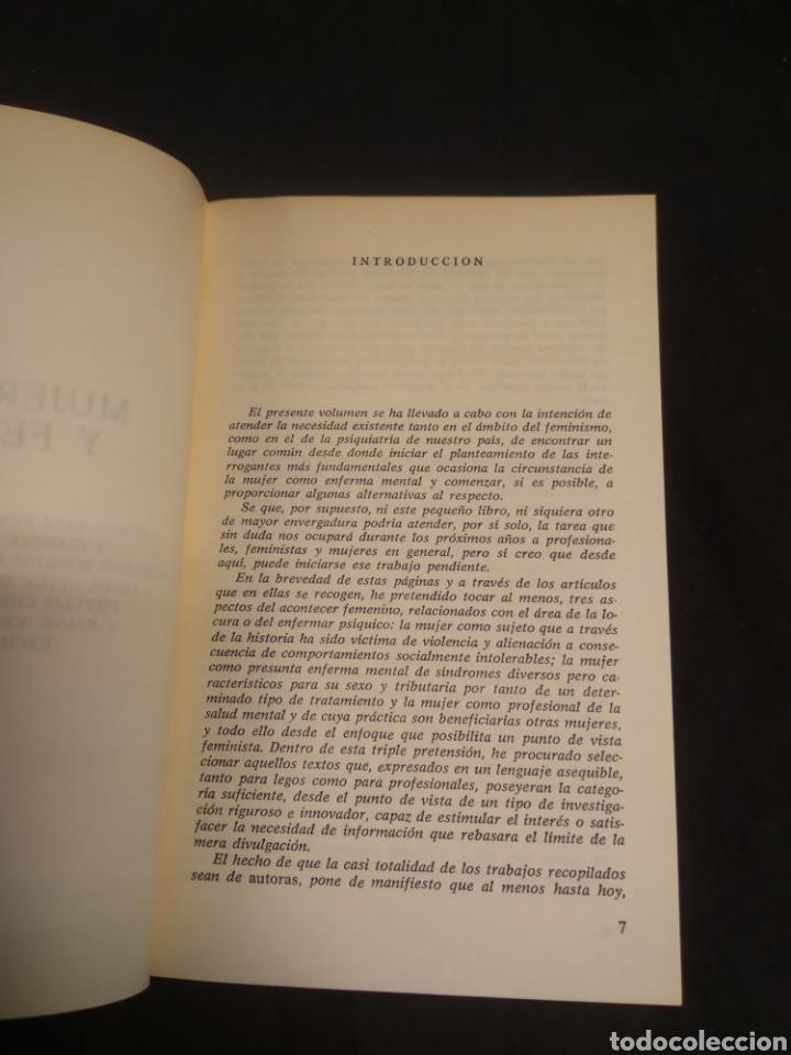 Libros de segunda mano: MUJER LOCURA Y FEMINISMO - Foto 5 - 222465176