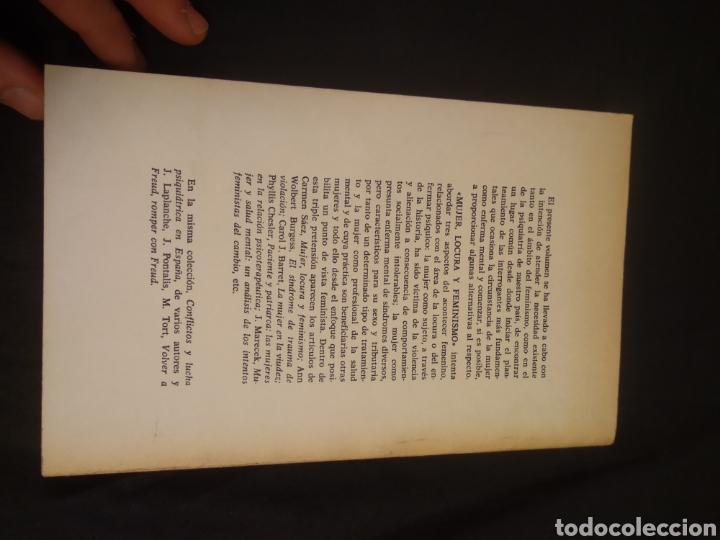 Libros de segunda mano: MUJER LOCURA Y FEMINISMO - Foto 8 - 222465176