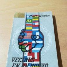 Libros de segunda mano: VECINOS EN UN NUEVO MUNDO / RUT KAREN / ALBOREAL PLAZA JANES / ZESQ406. Lote 223007538