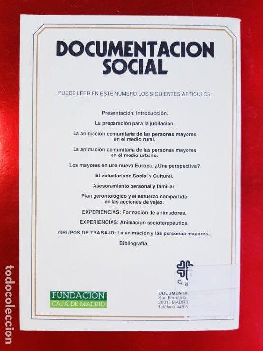 Libros de segunda mano: LIBRO-DOCUMENTACIÓN SOCIAL-LA ANIMACIÓN DE LOS MAYORES-1971-SOCIOLOGÍA-VER FOTOS - Foto 3 - 223767321