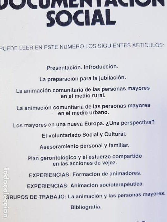 Libros de segunda mano: LIBRO-DOCUMENTACIÓN SOCIAL-LA ANIMACIÓN DE LOS MAYORES-1971-SOCIOLOGÍA-VER FOTOS - Foto 4 - 223767321