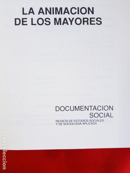 Libros de segunda mano: LIBRO-DOCUMENTACIÓN SOCIAL-LA ANIMACIÓN DE LOS MAYORES-1971-SOCIOLOGÍA-VER FOTOS - Foto 5 - 223767321