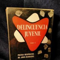 Libros de segunda mano: DELINCUENCIA JUVENIL LB2. Lote 225033270