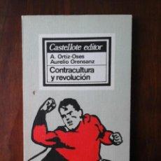 Libros de segunda mano: CONTRACULTURA Y REVOLUCIÓN. Lote 225735455