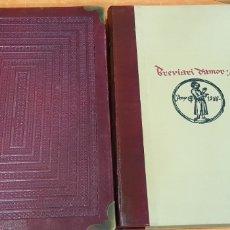 Libros de segunda mano: BREVIARI D'AMOR DE MATFRE ERMENGAUD DE BÉZIERS (EDICIÓN FACSÍMIL DE VICENT GARCÍA EDITORES, 1980). Lote 226355835