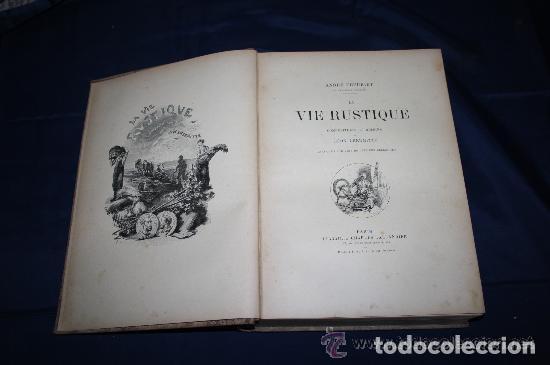 LA VIE RUSTIQUE. A. THEURET. EDIT. CHARLES TALLANDIER. FRANCIA. CIRCA 1900. (Libros de Segunda Mano - Pensamiento - Sociología)