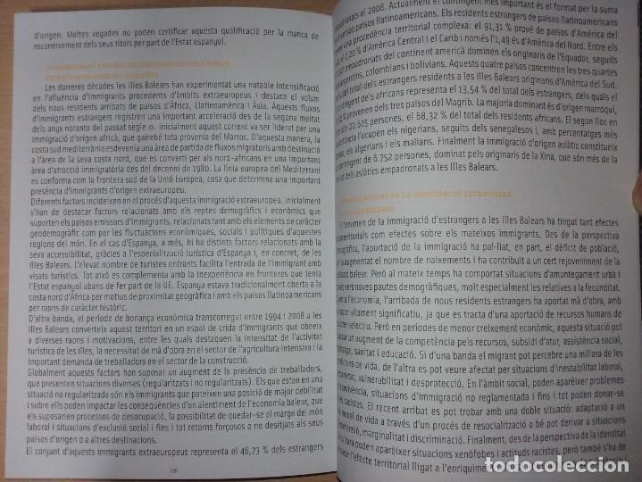 Libros de segunda mano: MALLORCA GLOBAL:100 PAÏSOS - MATEO CLADERA (ESTUDI SOBRE LA INMIGRACIÓ BALEAR) - Foto 9 - 231810805
