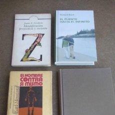 Libros de segunda mano: LOTE DE 4 LIBROS DE PSICOLOGIA/SOCIOLOGIA Y SEXUALIDAD...- VER TITULOS.... Lote 232342675