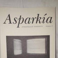 Libros de segunda mano: ASPARKIA INVESTIGACIÓN FEMINISTA. Lote 235696960