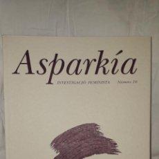Libros de segunda mano: ASPARKIA INVESTIGACIÓN FEMINISTA. Lote 235697360