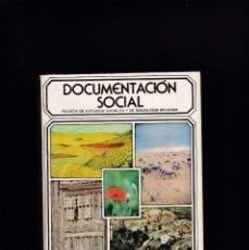 Libros de segunda mano: DOCUMENTACION SOCIAL - LA ESPAÑA RURAL - ABRIL/JUNIO 1983 - Nº 51. Lote 244590770