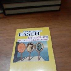 Libros de segunda mano: LASCH CHRISTOPHER, LA CULTURE DU NARCISSISME, FLAMMARION, PARÍS, 2006. Lote 244646770