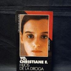 Libros de segunda mano: YO, CHRISTIANE F. HIJOS DE LA DROGA - CIRCULO DE LECTORES 1987. Lote 245199635