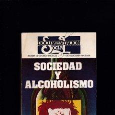 Libros de segunda mano: DOCUMENTACION SOCIAL - Nº 35 / 1971 - SOCIEDAD Y ALCOHOLISMO. Lote 245246705