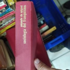 Libros de segunda mano: SOCIOLOGÍA DEL FRANQUISMO, AMANDO DE MIGUEL. L.24178. Lote 245274430