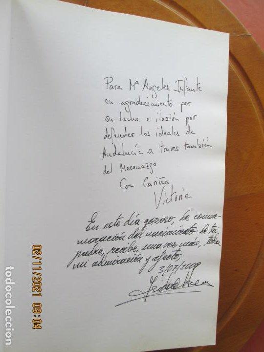 Libros de segunda mano: LOS SENTIDOS DEL PATRIMONIO - VICTORIA QUINTERO MORÓN - DEDICATORIA DE LA AUTORA - 2009. - Foto 2 - 245296025