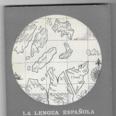 Libros de segunda mano: LA LENGUA ESPAÑOLA EN FILIPINAS. DATOS ACERCA DE UN PROBLEMA. VV.AA.. Lote 245313080