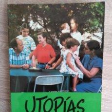 Libros de segunda mano: UTOPÍAS DE LA FAMILIA NUEVA ** M. VICTORIA MOLINS. Lote 245757045