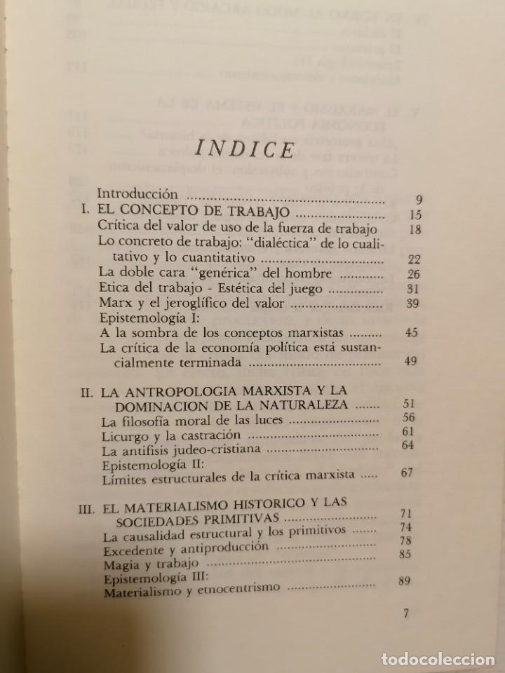 Libros de segunda mano: EL ESPEJO DE LA PRODUCCIÓN - JEAN BAUDRILLARD - GEDISA - 1A EDICIÓN 1980 - Foto 4 - 245997525