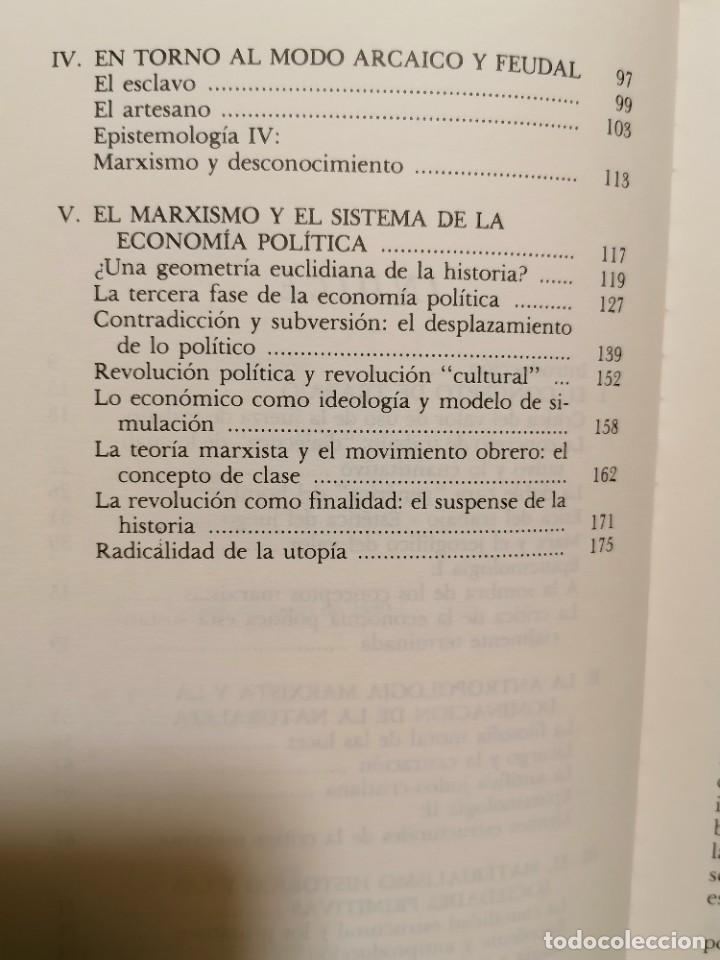Libros de segunda mano: EL ESPEJO DE LA PRODUCCIÓN - JEAN BAUDRILLARD - GEDISA - 1A EDICIÓN 1980 - Foto 6 - 245997525
