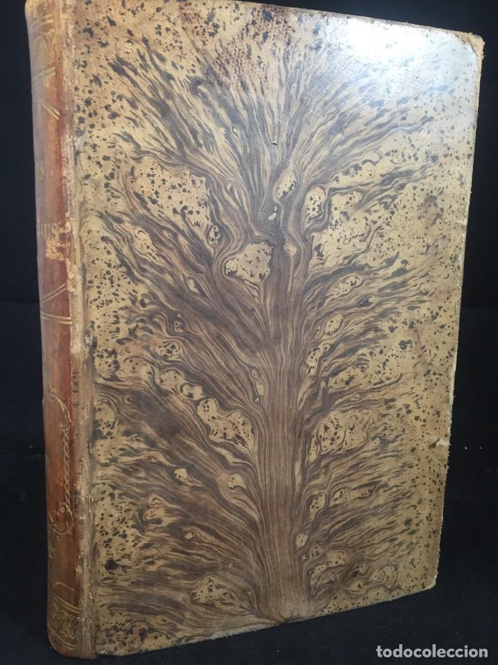 Libros de segunda mano: Essai sur le principe de population. Malthus Thomas Robert. 1852 plena piel. en francés. - Foto 12 - 247105715