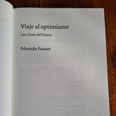 Libros de segunda mano: VIAJE AL OPTIMISMO EDUARDO PUNSET. Lote 251199325