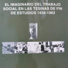 Libros de segunda mano: EL IMAGINARIO DEL TRABAJO SOCIAL EN LAS TESINAS DE FIN DE ESTUDIOS 1938 1983 UNIVERSIDAD COMPLUTENSE. Lote 254287365