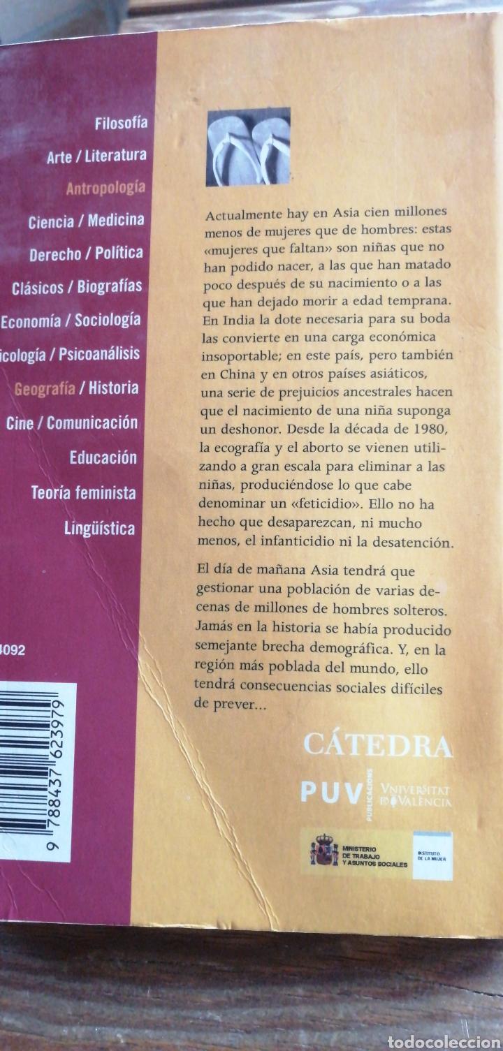 Libros de segunda mano: Cuando las mujeres hayan desaparecido. Bénédicte Marnier. Ediciones Cátedra Universitat de Valencia, - Foto 2 - 256029120