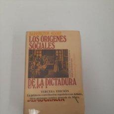 Libros de segunda mano: LOS ORÍGENES SOCIALES. Lote 258073565