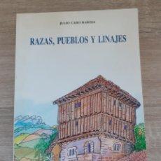 Libros de segunda mano: JULIO CARO BAROJA. RAZAS, PUEBLOS Y LINAJES. Lote 260805330