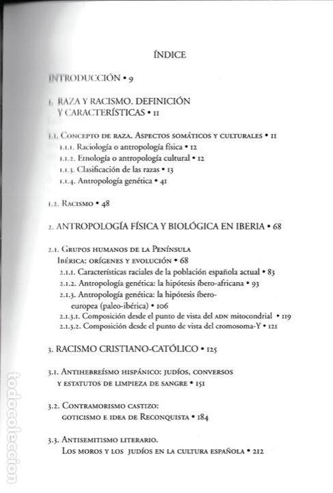 Libros de segunda mano: Historia del racismo en España / José María del Olmo - Foto 4 - 262668860