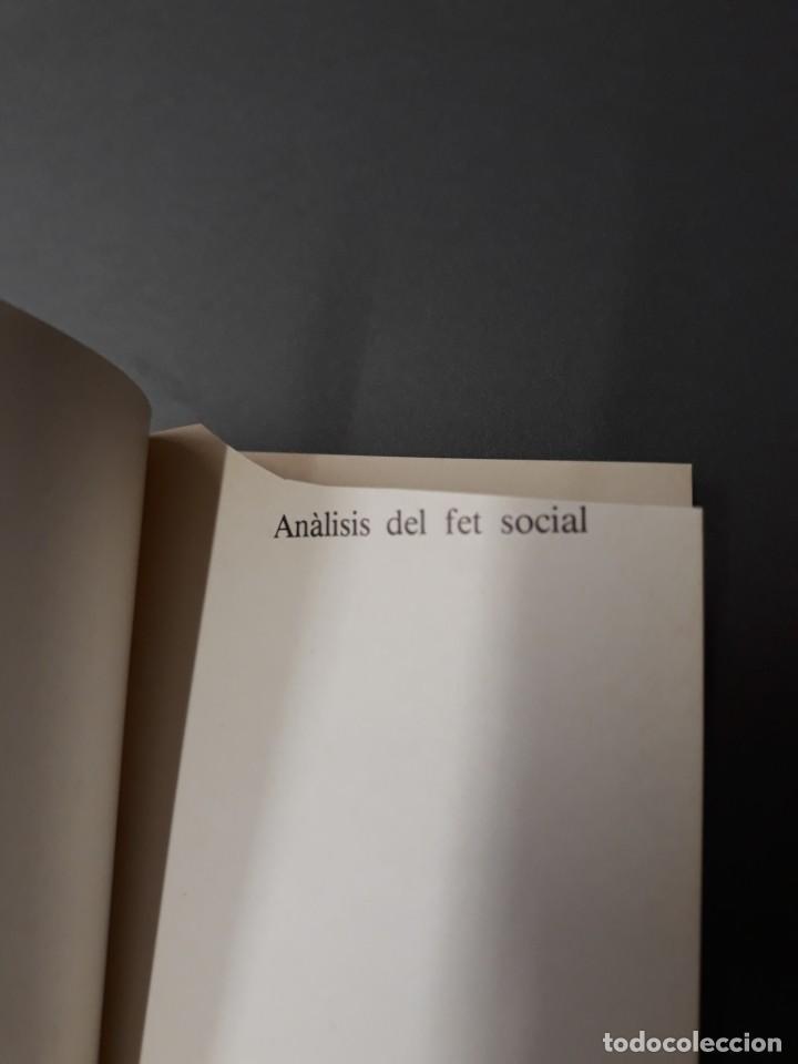 Libros de segunda mano: GRAELL, FERRAN. ANÀLISIS DEL FET SOCIAL - Foto 2 - 262721465