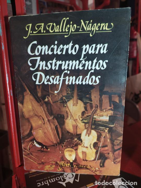 CONCIERTO PARA INSTRUMENTOS DESAFINADOS - VALLEJO-NÁGERA, J. A. (Libros de Segunda Mano - Pensamiento - Sociología)