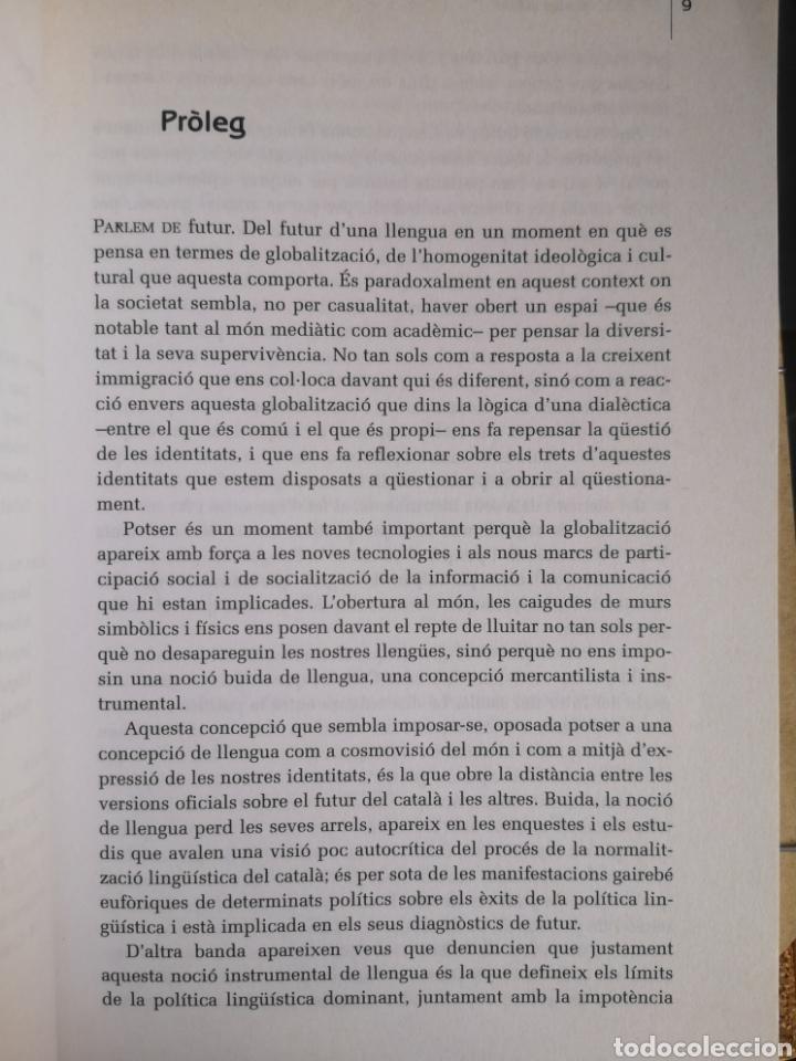 Libros de segunda mano: CARME JUNYENT, V UNAMUNO (eds.). El català: mirades al futur. 1a ed. Octaedro, Bcn, juliol 2002. - Foto 6 - 262826580