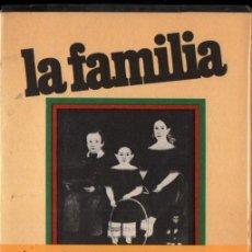 Libros de segunda mano: FROMM. HORKHEIMER, PARSONS : LA FAMILIA (PENÍNSULA, 1972). Lote 266929844