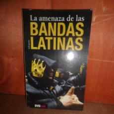 Livros em segunda mão: LA AMENAZA DE LAS BANDAS - DVBOOK / INFRAGANTI - DISPONGO DE MAS LIBROS. Lote 267195539