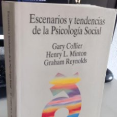 Libros de segunda mano: ESCENARIOS Y TENDENCIAS DE LA PSICOLOGÍA SOCIAL - AA.VV. Lote 268459014
