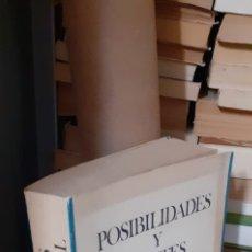 Libros de segunda mano: POSIBILIDADES Y LÍMITES DEL ANÁLISIS ESTRUCTURAL. JOSE VIDAL BENEYTO. EDITORA NACIONAL 1981. Lote 268868609
