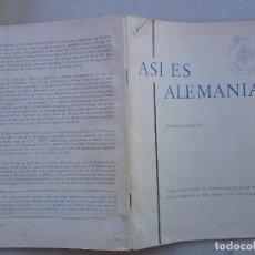 Libros de segunda mano: ASÍ ES ALEMANIA. DEPARTAMENTO DE PRENSA E INFORMACIÓN DEP. FEDERAL. 3ª EDIC.1961. Lote 268985664